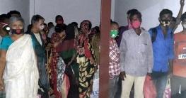 নারায়ণগঞ্জ থেকে সুনামগঞ্জে যাওয়ার পথে ৪৬ জন আটক