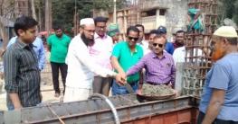 কলারোয়া উপজেলা কমপ্লেক্স ভবন নির্মাণ কাজের উদ্বোধন