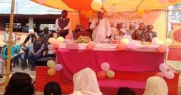 কালিগঞ্জের উত্তর শ্রীপুর হাইস্কুলে এসএসসি পরীক্ষার্থীর বিদায় অনুষ