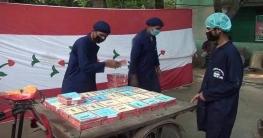 সাতক্ষীরায় ঢাবির প্রাক্তন শিক্ষার্থীদের 'ঘরে বসে আহার' কর্মসূচি