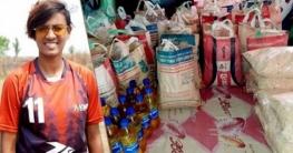 সাতক্ষীরায় ৭০ পরিবারকে খাদ্যসামগ্রী দিলেন সাবিনা