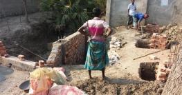 সরকারি কালভার্ট দখল করে পাকা অবৈধ স্থাপনা নির্মাণের অভিযোগ