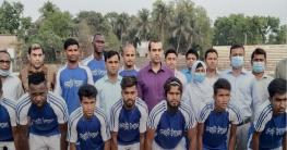 সাতক্ষীরায় মুজিববর্ষ ডিসিকাপ ফুটবল টুর্নামেন্টে দেবহাটা উপ:সেমিতে