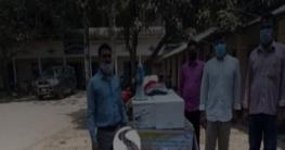 কলারোয়ায় ভ্রাম্যমান মাছ বিক্রি কার্যক্রমের উদ্ধোধন