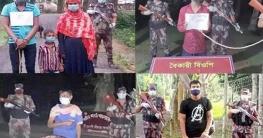 সাতক্ষীরায়  বিজিবি'র অভিযানে ৬ বাংলাদেশী আটক