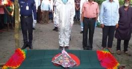 বীর মুক্তিযোদ্ধা মো.আলফাজ উদ্দীনের রাষ্ট্রীয় মর্যাদায় দাফন