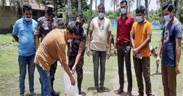 কালিগঞ্জে বিজিবি'র অভিযানে ১৩ লক্ষ টাকার গলদার ডিম জব্দ