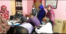 সদর এমপি রবিকে ব্রহ্মরাজপুর পূজা কমিটির ফুলেল শুভেচ্ছা