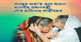 'প্রধানমন্ত্রীর গাড়ী বহর থামল কবি সুফিয়া কামালের বাসভবনে'